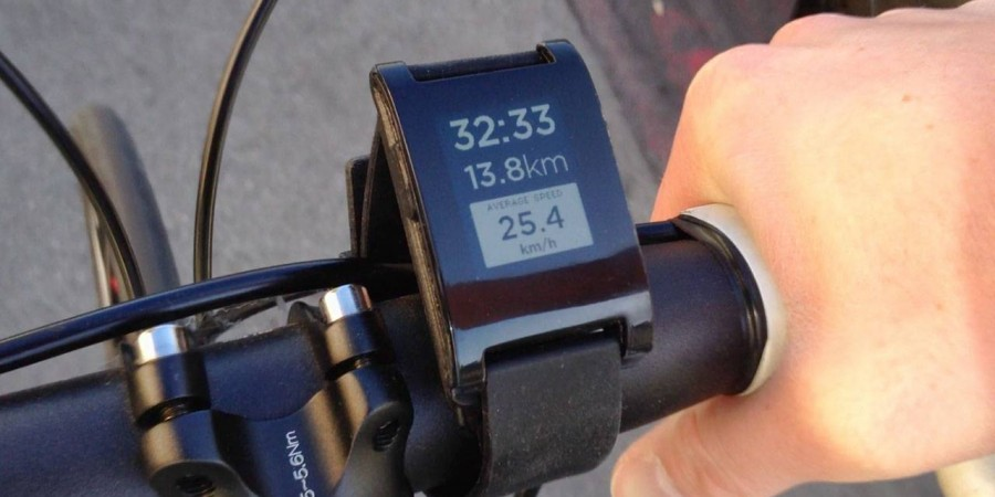 Wear your watch or give it to your bike